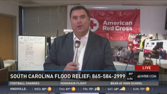 Tennesseans give to help SC flood victims
