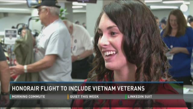 HonorAir flight to include Vietnam Veterans
