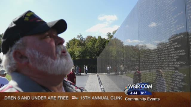 Veteran on HonorAir flight remembers more than 50 fallen comrades