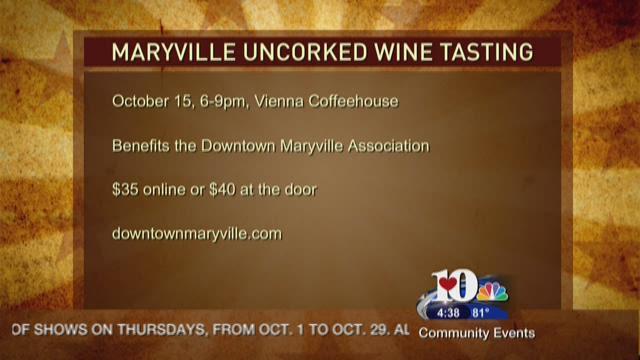 Maryville Uncorked Wine Tasting