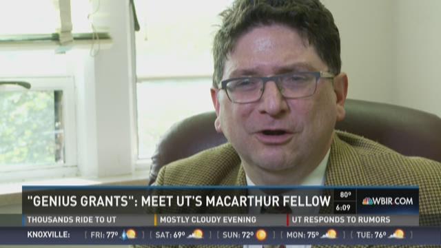 'Genius grants': Meet UT's MacArthur Fellow