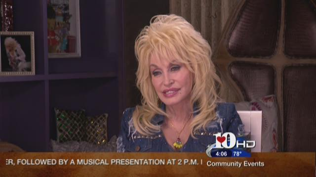 Dolly Parton cheering on the Vols, excited for band's tribute