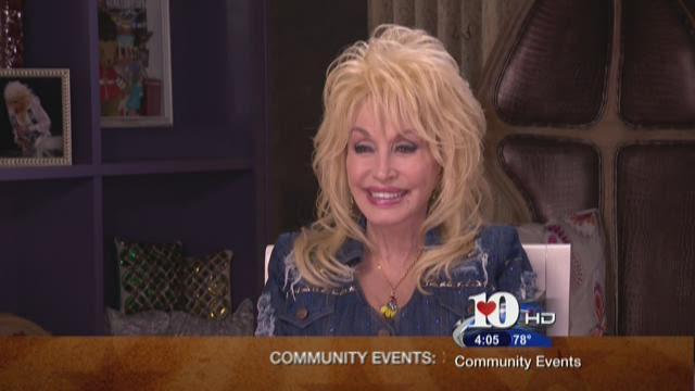 """Dolly Parton says """"Go Vols!"""""""