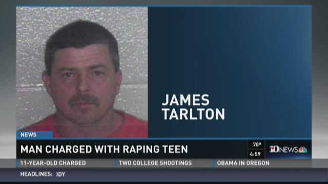 Man charged with statutory rape told victim it would save her from demons