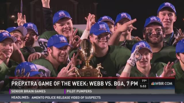 Game of the Week preview: Webb vs. BGA