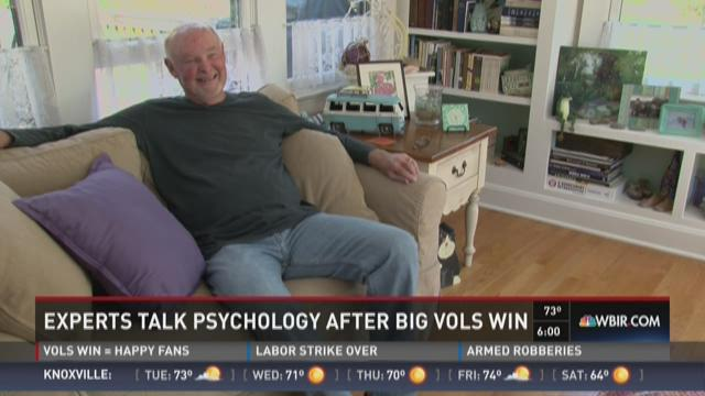 Experts talk psychology after big Vols win