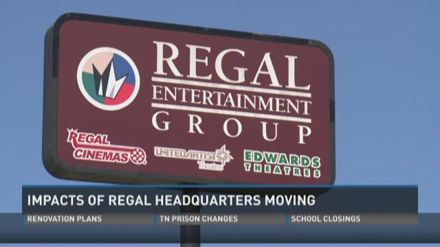 Impacts of Regal HQ moving