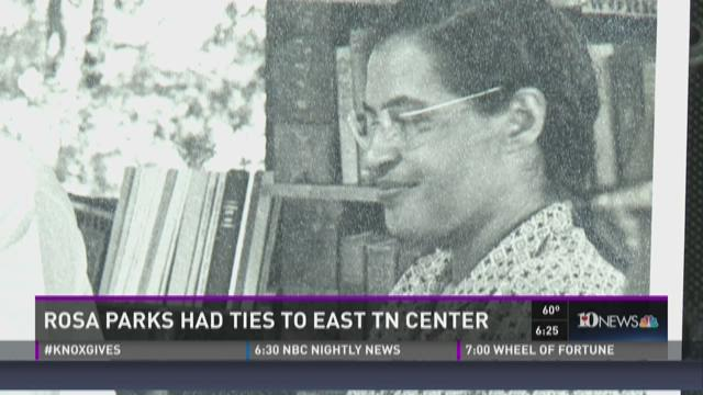 Rosa parks had ties to east tn center - Centre commercial rosa parks ...