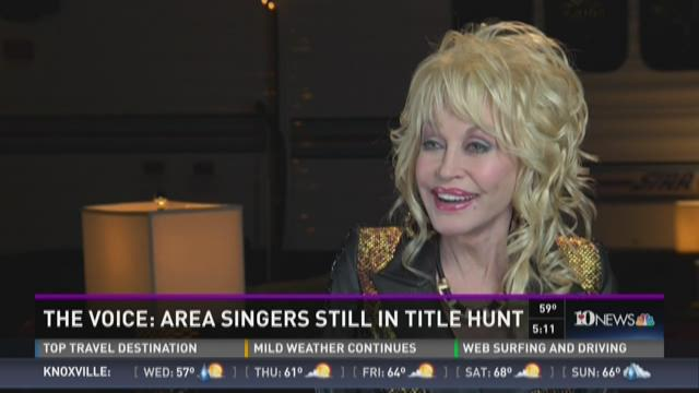 "Dolly Parton talks ""The Voice,"" and her new movie"